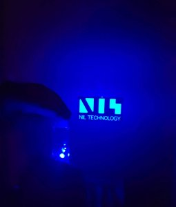 Diffractive diffuser, NILT logo